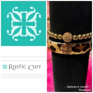 Rustic cuff bracelets bangle Ireland leopard 🐆